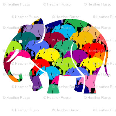 Elephant rush black