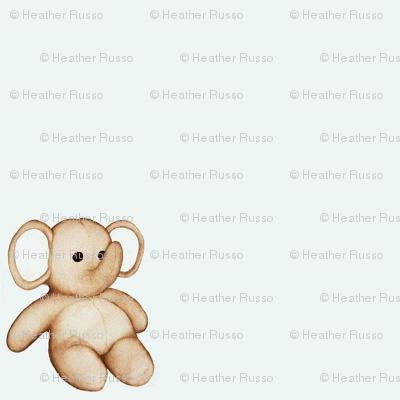 Small Stuffed Elephant