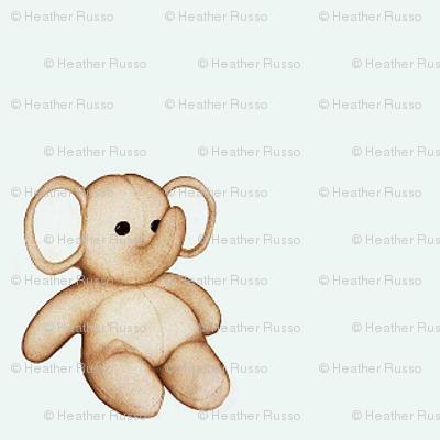 Tiny Stuffed Elephant
