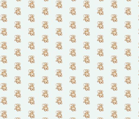 Tiny Stuffed Elephant fabric by mandollyn on Spoonflower - custom fabric