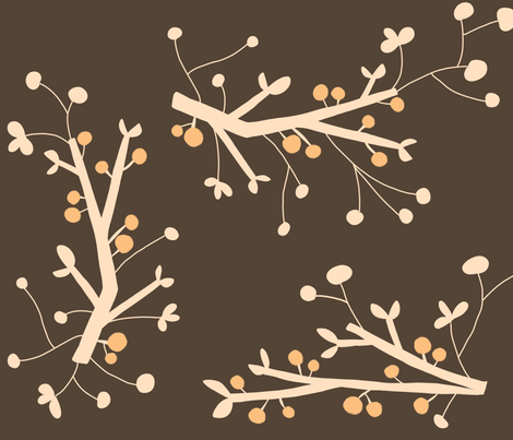 blossoms fabric by emilyb123 on Spoonflower - custom fabric