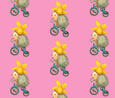 Spikes On Trikes fabric by golders on Spoonflower - custom fabric