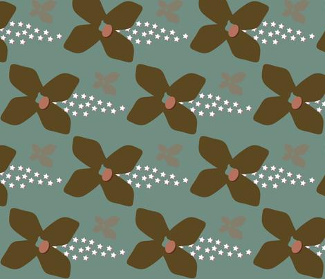 ponderosa_ave fabric by dolphinandcondor on Spoonflower - custom fabric