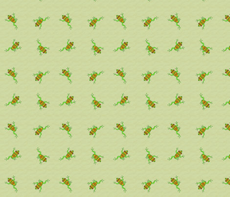 celtic frog tile 2 fabric by ingridthecrafty on Spoonflower - custom fabric