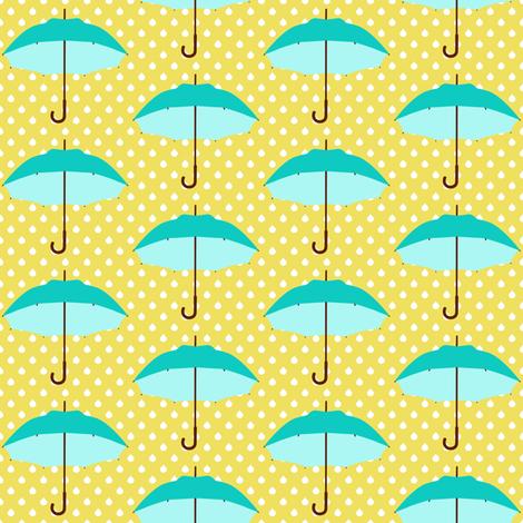 April Showers fabric by mytinystar on Spoonflower - custom fabric