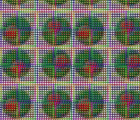 FuzzyOlive fabric by yargnad on Spoonflower - custom fabric