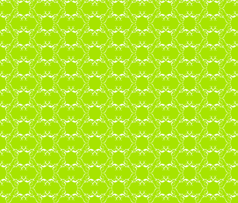 peteandrella green fabric by maeula on Spoonflower - custom fabric