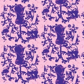 Pink Purple Sewing Toile