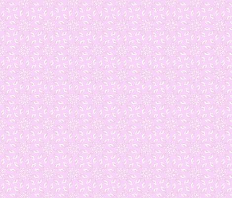 Seedflower Pink fabric by maeula on Spoonflower - custom fabric