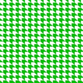 houndstooth_green