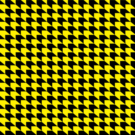 houndstooth_ybk fabric by neal on Spoonflower - custom fabric