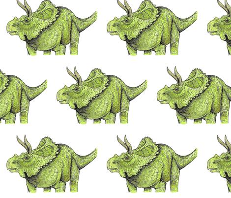 Arrhinoceratops fabric by taraput on Spoonflower - custom fabric
