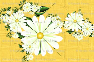 Linen Daisies