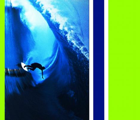 Surfer fabric by paragonstudios on Spoonflower - custom fabric