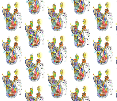 symphony fabric by wiccked on Spoonflower - custom fabric