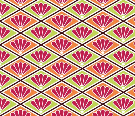 Diamond Peacocks fabric by pixeldust on Spoonflower - custom fabric