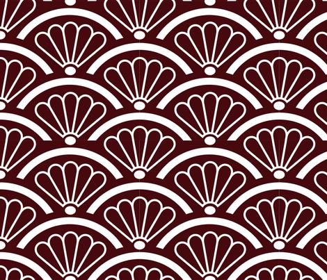 Peacock Fans fabric by pixeldust on Spoonflower - custom fabric