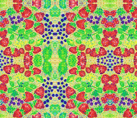 strawberriesandgrapes fabric by littlebear on Spoonflower - custom fabric