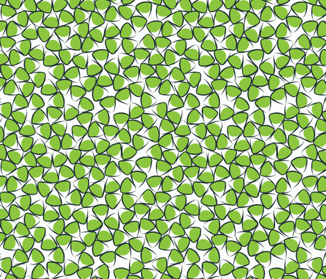 Green Egg fabric by daniellerenee on Spoonflower - custom fabric