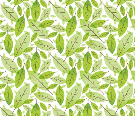 Greener fabric by vonster on Spoonflower - custom fabric