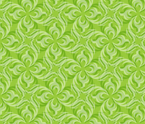 Florawhirl fabric by vonster on Spoonflower - custom fabric