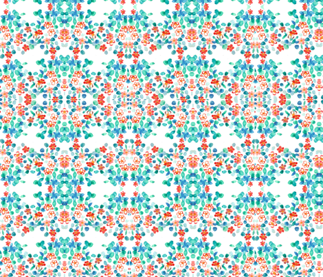 flowers fabric by tamptation on Spoonflower - custom fabric