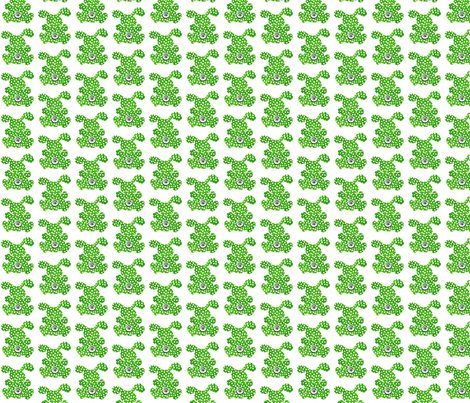 Button Bunnies fabric by twiddletails on Spoonflower - custom fabric
