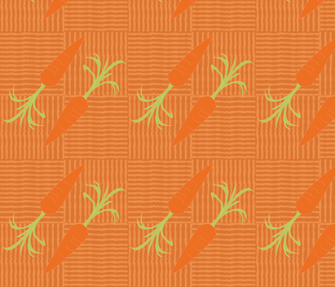 CARROT fabric by heatherrothstyle on Spoonflower - custom fabric