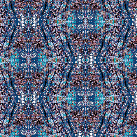 Blue Reflections fabric by karendel on Spoonflower - custom fabric