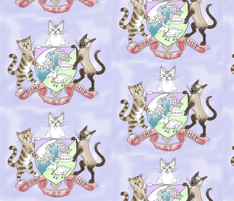 Coat of Arms (Large) fabric by jenithea on Spoonflower - custom fabric