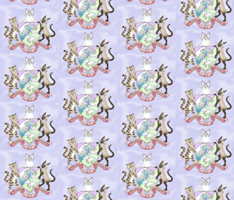 Coat of Arms (Small) fabric by jenithea on Spoonflower - custom fabric
