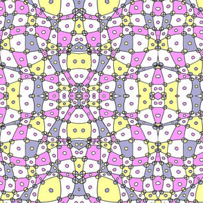 Pastel Abstract Checkers