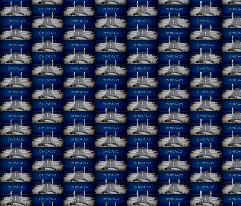CHICAGO PIER fabric by paragonstudios on Spoonflower - custom fabric