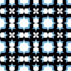 Type Tile Blue