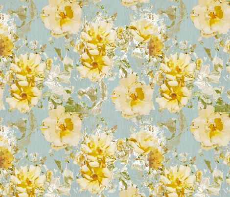 Shabby Rose fabric by kristopher_k on Spoonflower - custom fabric