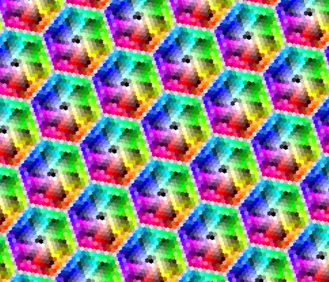 Color_tessellation fabric by mandollyn on Spoonflower - custom fabric