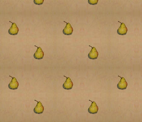 Pears fabric by linda_d_braun on Spoonflower - custom fabric