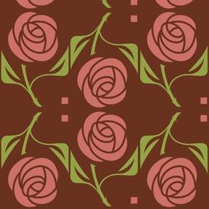 rose burgundy