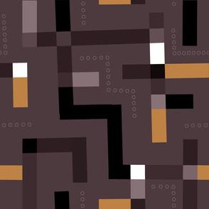 Kuba Cloth (Chocolate)