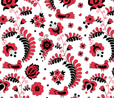 Dreamgarden_3 fabric by andrea11 on Spoonflower - custom fabric