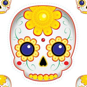 Sugar Skull: Marigold - Cut & Sew