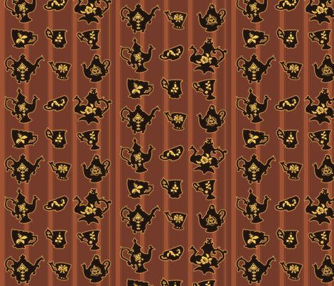Tea Time fabric by jadegordon on Spoonflower - custom fabric