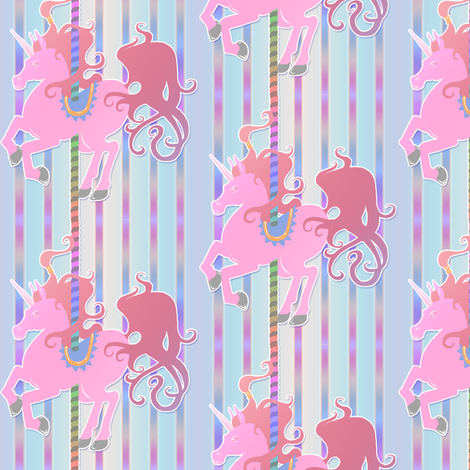 Merry Go Round fabric by jadegordon on Spoonflower - custom fabric