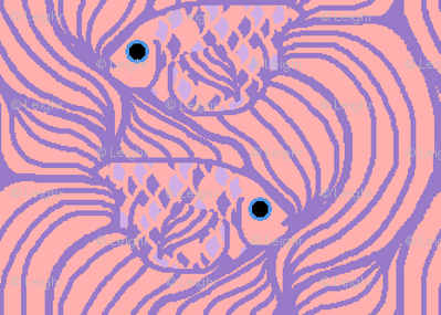 Weird Fishes Tessellation (choked)