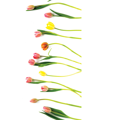 Tulip Table Runner fabric by martha_stewart_weddings on Spoonflower - custom fabric