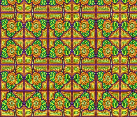 TexMex Beauty fabric by societydeb on Spoonflower - custom fabric