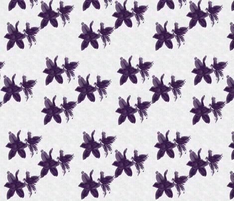 purplelilies fabric by snork on Spoonflower - custom fabric