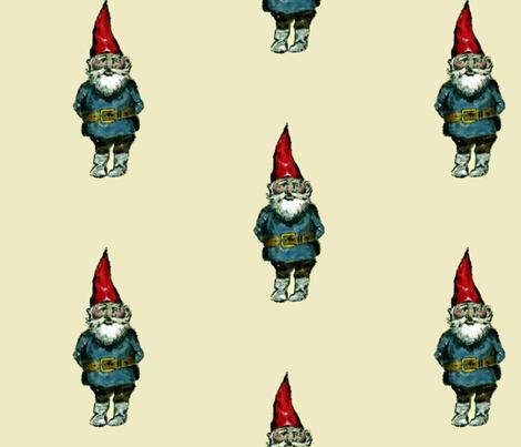 Gnome fabric by taraput on Spoonflower - custom fabric