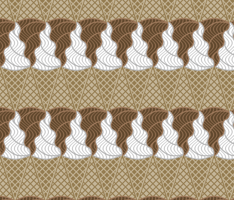 IScreamIceCream fabric by shala on Spoonflower - custom fabric