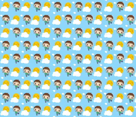 Dylan Pillow Cover fabric by mayabella on Spoonflower - custom fabric
